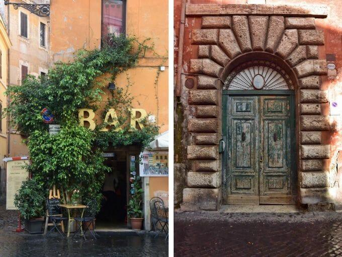 Trastevere doorways