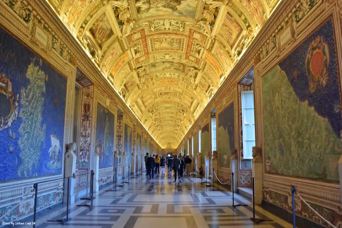 Vatican Gallery of the Maps