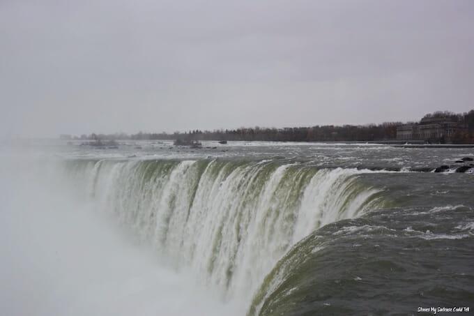Top of Niagara Falls