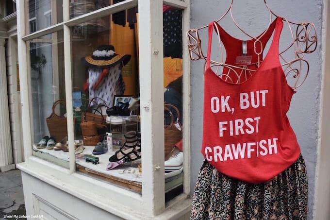 Crawfish shirt New Orleans
