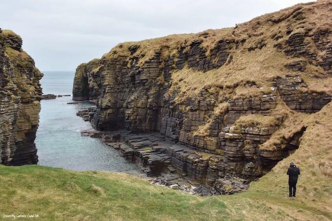 Caithness Flagstone cliffs