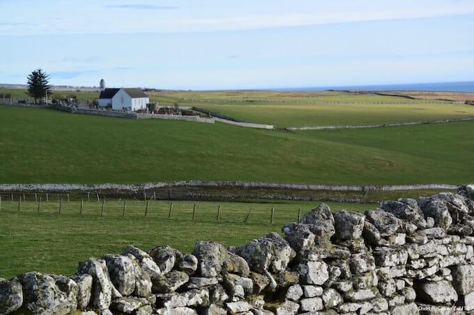 Caithness farmland