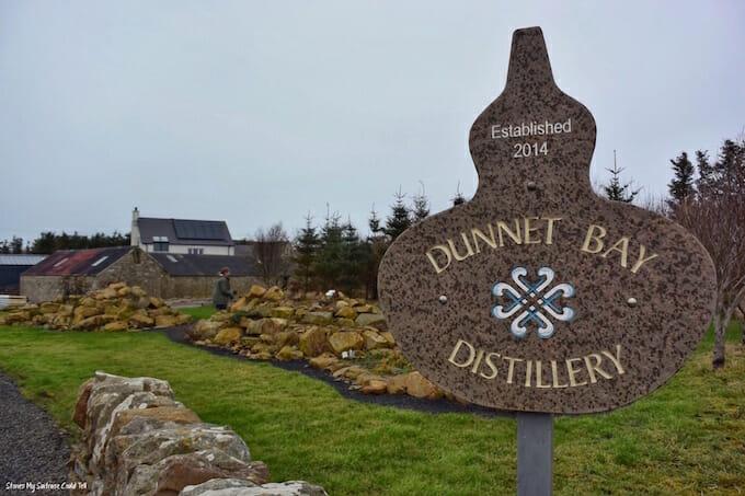 Dunnet Bay Distillery Scotland