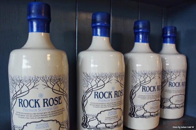 Rock Rose Gin Dunnet Bay Distillery