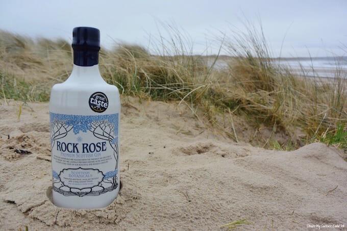 Rock Rose Gin Dunnet Bay
