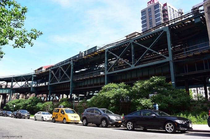 Long Island City train tracks