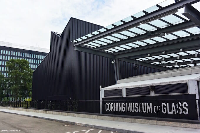 Corning Museum of Glass entrance