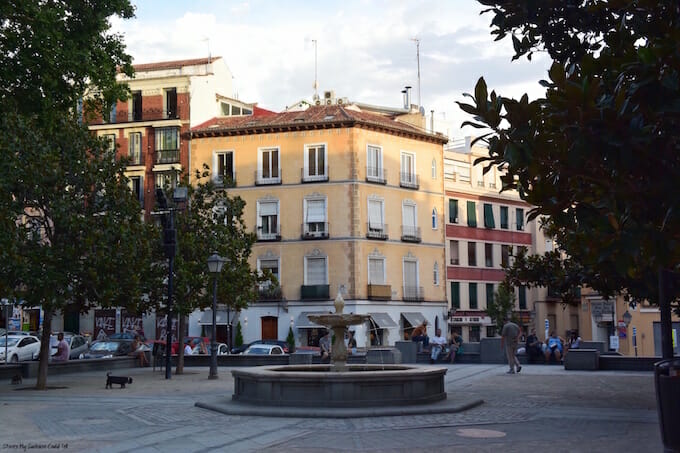 Madrid city square