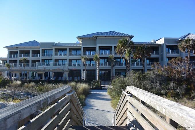 Jekyll Ocean Club Beach Entrance