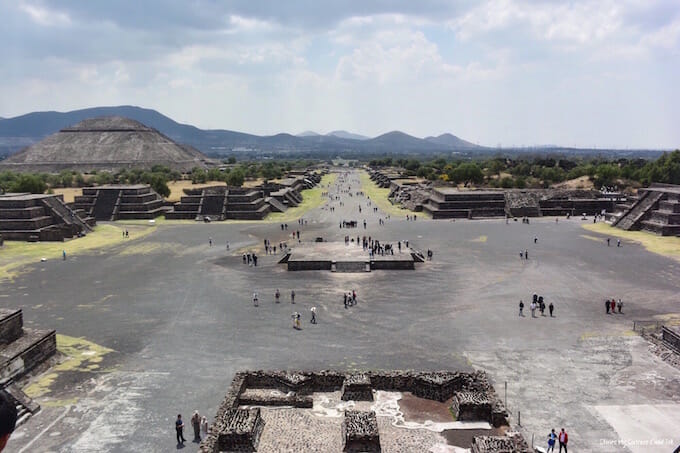 Avenue of the Dead Teotihuacan