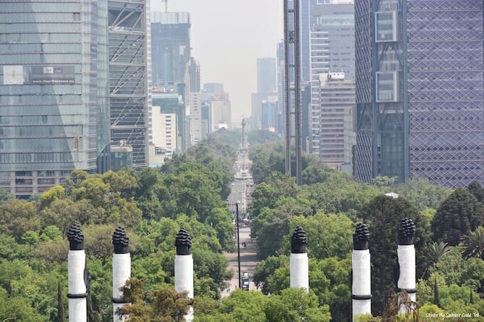 Downtown Mexico City