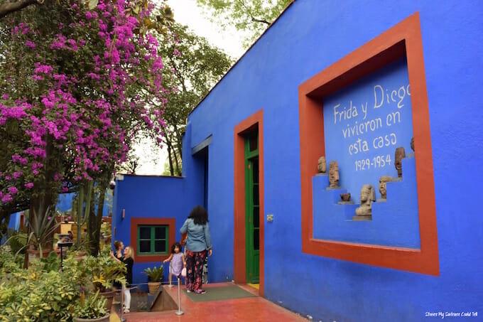 Frida Kahlo Museum Mexico City