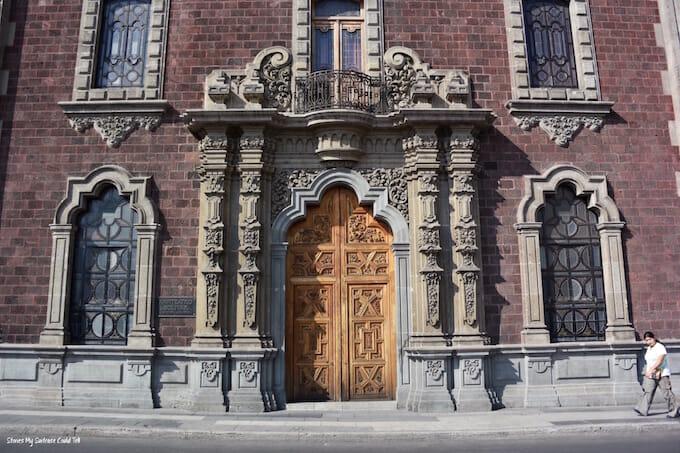 Old doorways in Mexico City