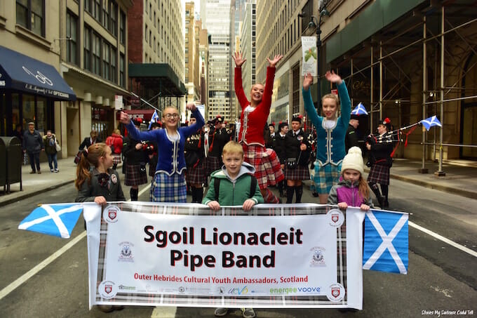 Sgoil Lionacleit Pipe Band New York City