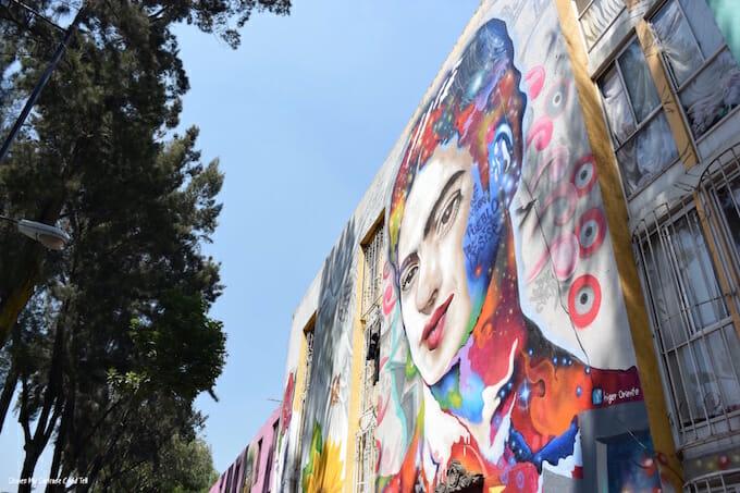 Street art week in Mexico City