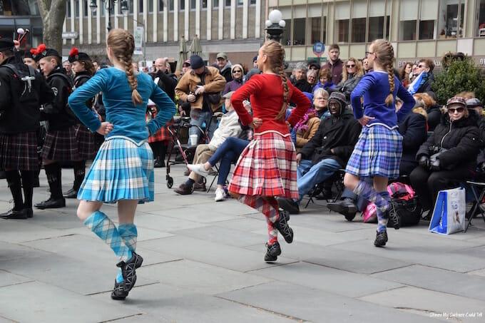 Tartan Week Scottish Highland Dancers