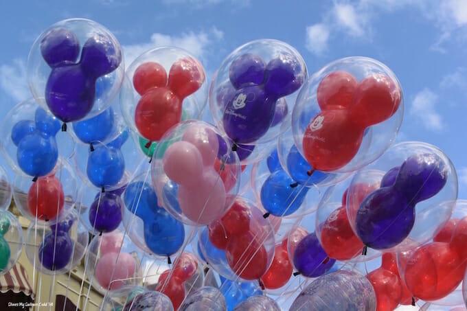 Mickey Mouse balloons Walt Disney World