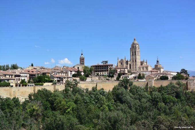 Segovia skyline