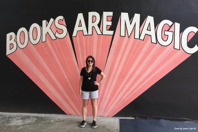Books Are Magic Sign