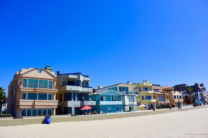 California beach homes
