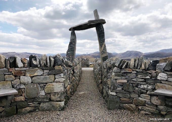 Land rights memorial Uig