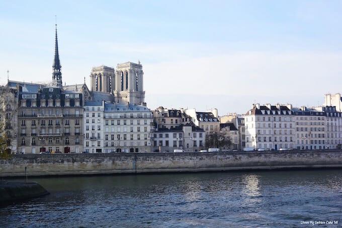 Notre Dame Paris skyline