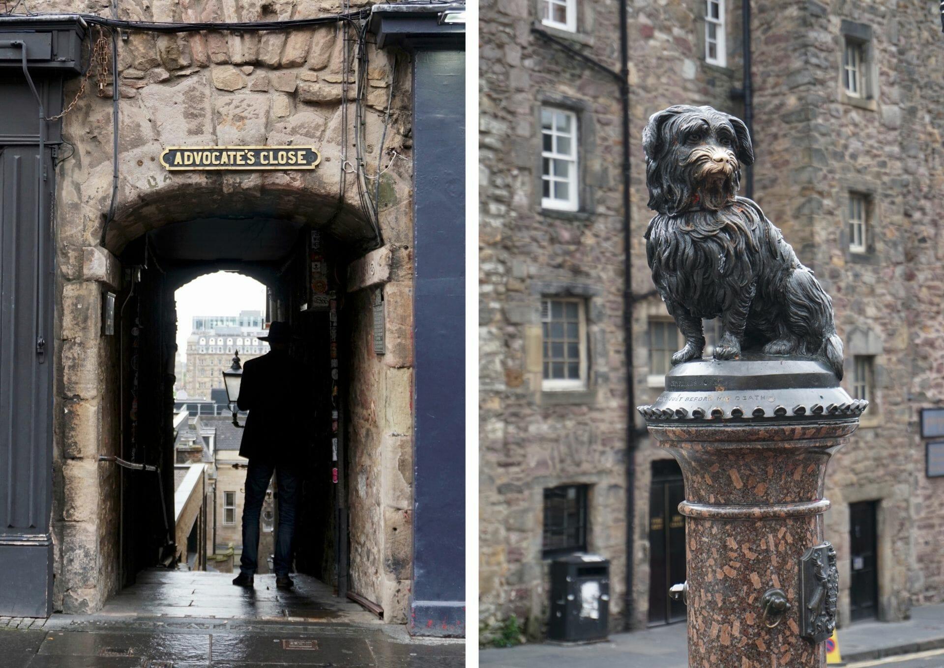 Advocate's Close Edinburgh