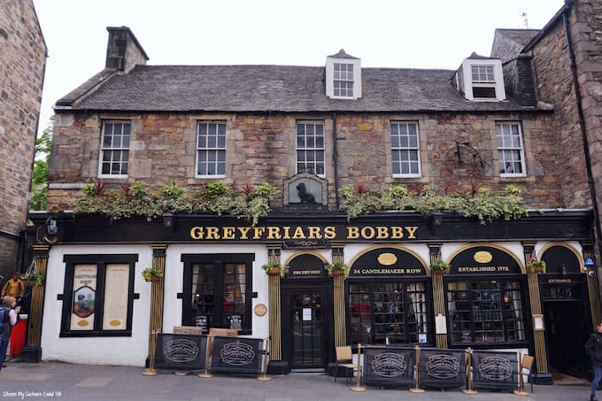 Greyfriar's Bobby Pub Edinburgh