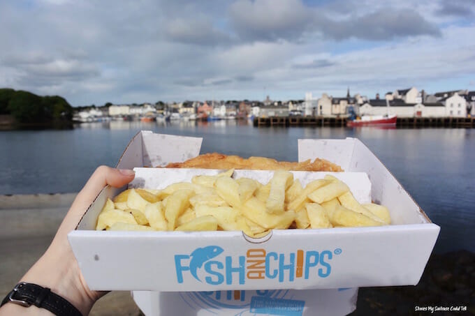 Fish and chips Lewis and Harris
