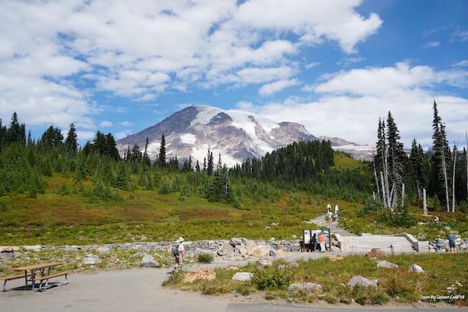 Paradise Mount Rainier National Park