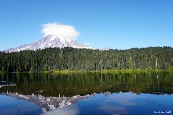Reflection Lakes Mount Rainier