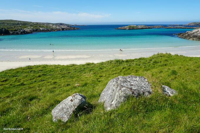 Uig Outer Hebrides beach
